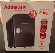 Admiral Handy Personal Fridge Portable 4L Refrigerator for Heating & Cooling New