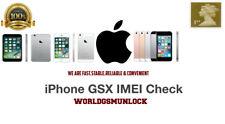 Apple iPhone Official Carrier+SIM Lock+Model+FMI Status+SN By IMEI