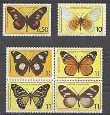 Timbres Papillons St Thomas et Prince 530/5 ** lot 19418