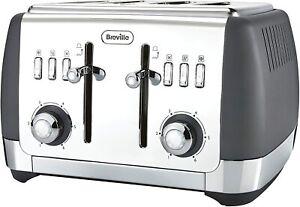 Breville VTT764 Strata 4 Slice Luxury Toaster in an Ultra stylish Matt Grey !!!