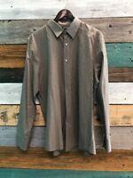 Men's Long Sleeve Murano Button Up Shirt - XL