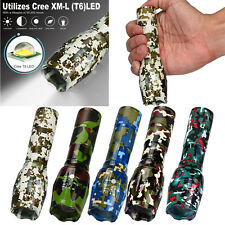 8000lm 5-Mode Shadowhawk X800 Tactical Flashlight LED Zoom Military Torch Lamp