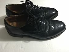 Florsheim Men's Brookside Wingtip Oxford USED Shoes Black 11231-001 Size 9.5