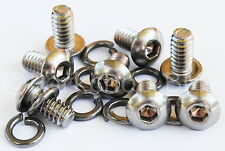 Hutch or JP or Crupi BMX Bicycle Pedal Cage Bolt Screw (8 bolts) STAINLESS STEEL