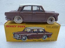 DINKY TOYS FRANCE REF 531 FIAT 1200 GRANDE VUE TRES BON ETAT + BOITE D ORIGINE