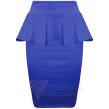 Gonne e minigonne da donna stretch blu taglia S