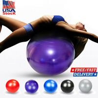 Pilates Exercise Ball GYM Large Fitness Abdominal Body Stability Yoga Ball