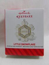 2014 Hallmark Keepsake Ornament Little Snowflake Miniature Loc B47