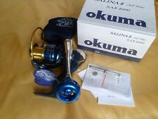 Okuma SALINA II 4000 Spinning Reel 23kg drag Full Metal manufacture - New