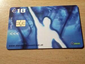 TELECARTE / PHONECARD .. PAYS BAS 10€ KPN mobile Nerderland Netherlands