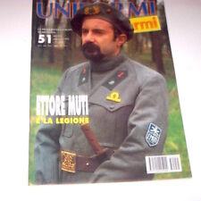 Militaria - Rivista Uniformi e Armi - N° 51 - Maggio 1995 Ettore Muti