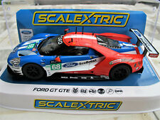 """Scalextric  Ford Gt GTE N° 68   """" 24 Hours Le Mans 2017 """"    Ref. C3857 NEU 2018"""