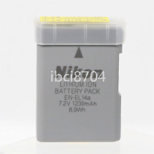 Genuine Original Nikon EN-EL14a EN-EL14 Battery for MH-24 D3300 D5200 D5100 5500