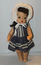 16� Vintage Terri Lee Doll Brown Brunette Hair & Brown Eyes Beautiful