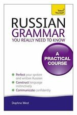 Russian Grammar You Really Need To Know Teach Yourself Language
