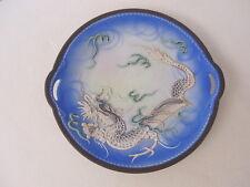 alter Porzellan Teller asiatisch m. Drachen -