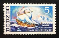 Canada #482 MNH, 1668 Voyage of the Nonsuch Stamp 1968
