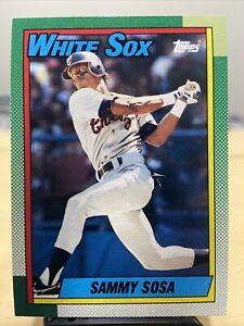 1990 Topps #692 Sammy Sosa RC Rookie RC Chicago White Sox Baseball MLB 🔥