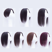 Fashion Hairpiece Clip In Human Hair Replacement Top Topper Toupee Piece Wig
