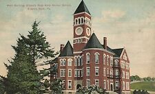 Main Building State Normal School Slippery Rock PA Postcard 1912
