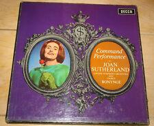 JOAN SUTHERLAND BONYNGE LSO DECCA 278 248 WBg ED1 UK 2-DISC STEREO LP BOX