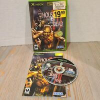 House of the Dead III 3 (Microsoft Xbox, 2002) Complete, Tested, CIB Sega