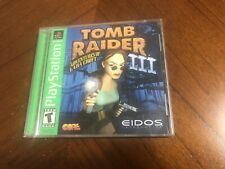 Authentic Original Tomb Raider Iii 3 Sony Ps1 With Manual Playstation Working
