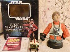 Luke Skywalker In X-Wing Pilot Gear Collectible Bust Gentle Giant 2004