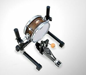 """10 inch Electronic Bass Drum with Stand without Pedal / 10"""" Mesh Head Kick Drum"""