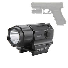 COMUNITE G03 600LM Tactical LED Flashlight Gun Pistol Light CR2 Rail Mount Torch