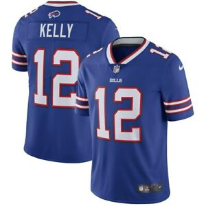 Jim Kelly #12 Quarterback, Buffalo Bills, Football Team Jersey