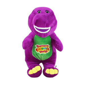 """Singing Barney and Friends Barney I LOVE YOU Song Plush Doll Toy XMAS Gift 12"""""""