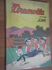 TIRAMOLLA NUMERO 16 ANNO IX° LUGLIO 1961 EDIZIONI ALPE