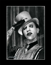 Marilyn Manson drawing from artist art image picture poster