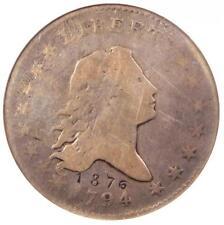 1794 Flowing Hair Bust Half Dollar 50C O-107 R6 - ANACS VG8 Detail - Rare Coin!