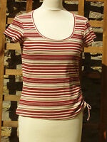 LADIES STRIPED TOP SIZE 10 - by 'PRINCIPLES'
