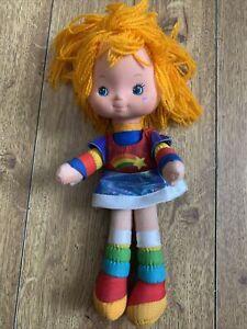 80s Original Vintage Hallmark Cards Mattel Rainbow Brite Doll 1983