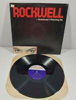Rockwell Somebody's Watching Me Vinyl LP Record 1984 Motown 6052