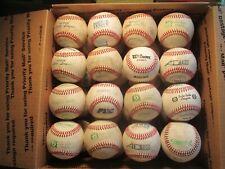 Lot of (32) Good Used Leather Baseballs