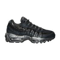 Size 5 Nike Women AIR MAX 95 PREMIUM RUNNING SHOES 807443 001 Black Silver