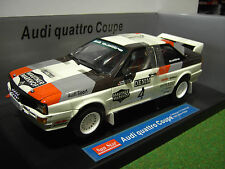 AUDI QUATTRO coupé RALLYE 1981 JANNER RALLY 1/18 SUNSTAR 4182 voiture miniature