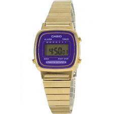 Casio LA670WGA-6 Women's Metal Band Vintage Gold Tone Digital Watch