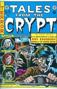 Tales from the Crypt 36 COVER PRINT Jack Davis Vampire In The Cab Art Poster EC