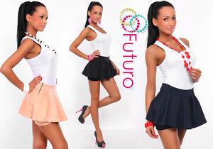 Sexy & Elegant Women's Mini Short Skirt Shorts Culottes Sizes 8-18 8351