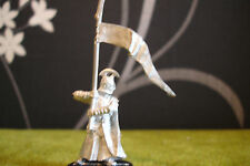WARHAMMER Lotr-High Elf Comando Standard Bearer (metallo RARO posa)