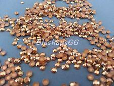 1000 Hotfix Studs, Nieten aus Metall, *Gold*, SS10 ~ 3mm, Super Qualität