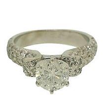 0.90ctw Round Diamond 14k White Gold Ring