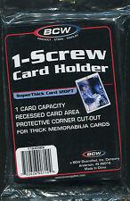 20 BCW 1 Screw Screwdown Super Thick Card Displays 120 pt.