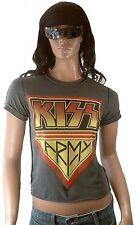 ROCK MY WORLD Official KISS ARMY Stonewash Vintage ViP Star Club WOW T-Shirt g.S