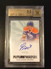 11-12 SP Authentic Ryan Nugent-Hopkins Future Watch Rookie Card RC BGS 9.5  /999